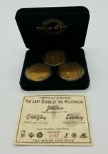 The Last Stars of the Millennium Highland Mint Jordan Gretzky Elway Medallions