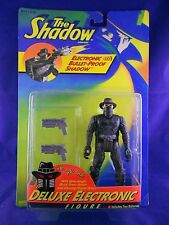 """The Shadow 1994 """"Electronic Bullet-Proof Shadow""""  Kenner – Action Figure - MINMP"""