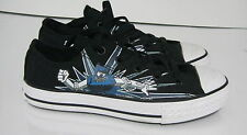 Converse Shoes Chuck Taylor Ox All Star Robot Black/Blue Sneakers Kid Size 3