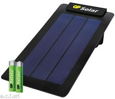Gp Solar Charger with Solar Panel + 2 Mini Stylus Rechargeable