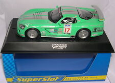 SUPERSLOT H2738 DODGE VIPER #17 COMP.COUPE  FOSTER MOTOR SPORTS  SCALEXTRIC UK