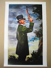 Vintage Disney ( Haunted Mansion Right Dueling Ghost) Collector's Print -B2G1F