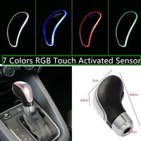 Car Gear Shift Knob 7 Colors LED Touch Activated Automatic /Manual Shifter - NEW