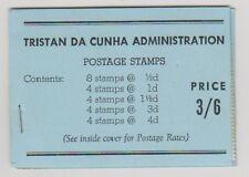 Tristan Da Cunha - 1957, 3/6 Booklet (1 x Staple) - MNH - SG SB1 - RARE!