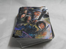LORD OF THE RINGS MASTERPIECES 2 COMPLETE BASE SET OF 72