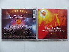 CD Album DAN AR BRAZ ET L'HERITAGE DES CELTES Zénith SAN 491811 2