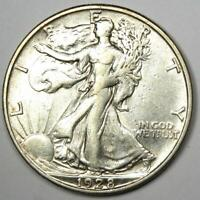 1928-S Walking Liberty Half Dollar 50C - XF / AU Details - Rare Date Coin!