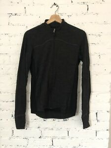 Womens Donkey Label Long Sleeve Bike Jersey Merino Wool Medium Grey Rapha Unisex