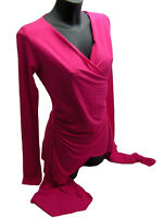 Maglia Donna Denny Rose Fucsia Sweater Woman Made In Italy  3990