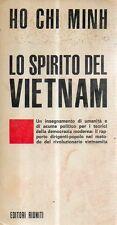 O16 Lo spirito del Vietnam Ho Chi Minh Editori Riuniti 1968