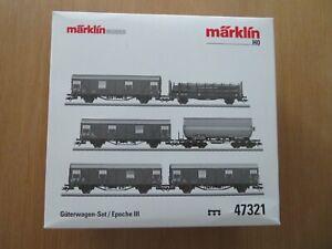 Marklin Freight car set: Collectors Set. Brand new. UK based seller