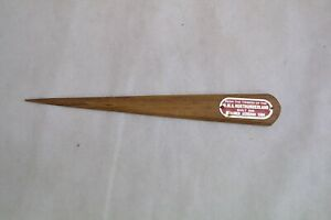 LETTER OPENER FROM THE TIMBER OF H.M.S NORTHUMBERLAND 1868 ACHERON 1904 ##DER3