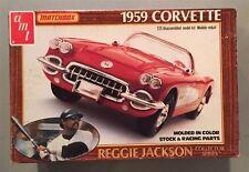 AMT/Matchbox 1:25 1959 Corvette Reggie Jackson Plastic Model Kit #PK-4183