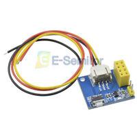 ESP8266 ESP-01 ESP-01S RGB LED IDE Adapter WS2812 Controller Module for Arduino