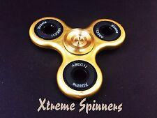Xtreme ™ ORO Fidget Dito Spinner SWISS CERAMICA Zr02 ibrido LUNGO SPIN Cuscinetto