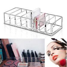 8 Slot Acrylic Compact Holder Eye Shadow Blush Highlighter Makeup Organiser Case