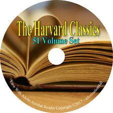 The Harvard Classics - World Literature - 51 Volumes / Books on DVD