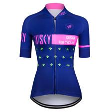 Baisky Cycling Women Jersey Bike Tops-Milk Fiber-Hygge (T2022G)