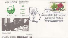 (03367) USA Cover Lions International Atlanta Georgia 1982