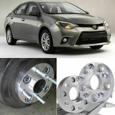 4pcs 5X114.3 60.1CB 25mm Thick Hubcenteric Wheel Spacer Adapters For Toyota