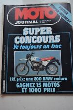 MOTO JOURNAL 489 YAMAHA XS 400 GN SUZUKI Johnny CECOTTO PARIS DAKAR DUCATI 1980