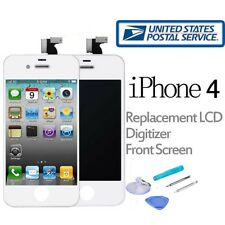 Replacement LCD Touch Screen Digitizer Front Glass Assembly For iPhone 4 White