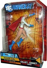 DC UNIVERSE CLASSICS WAVE 10 POWER GIRL FIGURE 4 N7289 LEFT LEG *NEW*