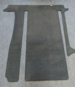 BRANDRUP Living Area Carpet for T6/T5 California Ocean/SE/Coast, 2 Rails, Black
