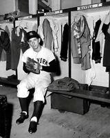 Billy Martin #2 Photo 8X10 - 1954 Yankees Locker Room