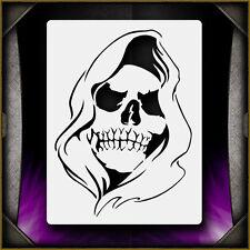 Grim Reaper 4 Airbrush Stencil Template Airsick