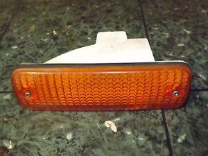 86-87 OEM Honda Accord CA1 045-6994 front bumper driver turn signal light lens L