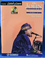 Dr. John Teaches New Orleans Piano - Volume 1 by Hal Leonard Publishing