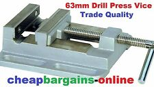 2-1/2in 63mm DRILL PRESS VICE H/DUTY Bench Locking Clamp Workshop Equipment Tool