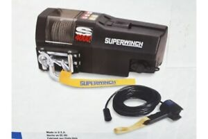 4000lb Electric Recovery Winch Superwinch S4000 24v,Remote,Warranty