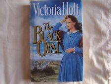 Victoria Holt THE BLACK OPAL Hardback with Dustwrapper 1993 BCA