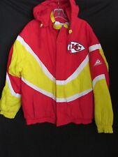KC Kansas Chief Vintage  NFL Pro Line APEX One Insulated Jacket Hood Men's M. CH