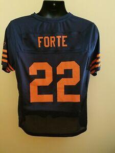 Chicago Bears Matt FORTE Reebok NFL On Field Football Jersey Used Women's XL