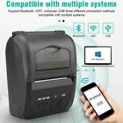 58mm portable printer w/bluetooth 4.0 printing for Android and Apple US plug