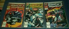 COMPLETE SET OF ROBOCOP 2 #1-3 1990 MARVEL COMICS MARK BAGLEY ALAN GRANT