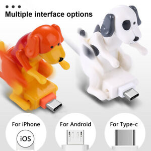 Funny Humping Dog Fast Charger Cable Charging Line Power Data Transfer 3.94ft 1x