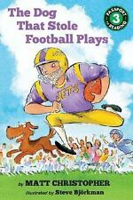 The Dog That Stole Football Plays (Passport to Reading Level 3)-ExLibrary