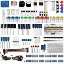 Keywishbot Electronic Component Base Fun Kit Bundle With Breadboard Cable Res