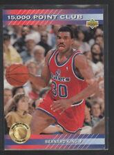 BERNARD KING 1992-93 UPPER DECK 15,000 POOINT CLUB CARD #PC17
