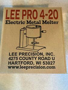 Lee 90947 Lee Precision 20 LB Pro 4 Casting Pot Metal Melter (Insured shipping)