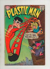 Plastic Man #3 - Human Fire Ladder Cover - (Grade 5.0) 1967