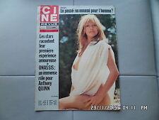 CINE REVUE N°2 8/1/1976 MONA SOLMONS MARGARET LOCKWOOD A.QUINN ONASSIS      G70