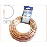 DIETZ 23168 LS-Kabel ECO transp. 2*2,5 mm2 10 m Lautsprecher Kabel