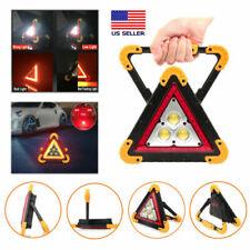 Led Triangle Warning Light For Roadside Emergency Security Safety Flashing Light