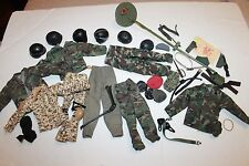 """1/6 scale military parts lot for 12"""" inch action figure 1/6th lot misc"""