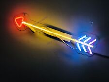 "New Arrow Neon Sign Acrylic Gift Light Lamp Bar Wall Room Decor 15""x8"""